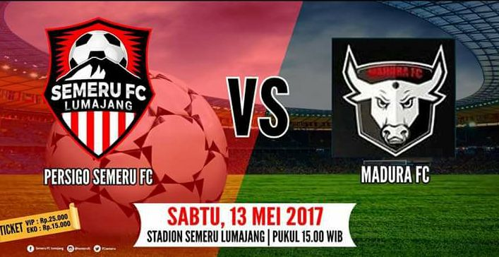 Laga Seru, Semeru FC Vs Madura FC Ingin Raup Poin 3
