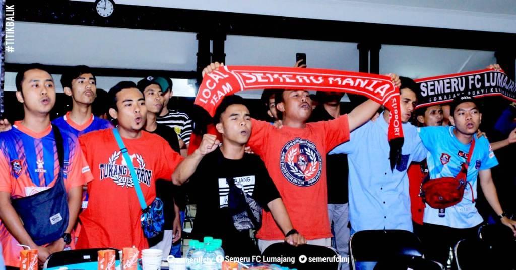 Anthem Semeru FC  Lumajang Bergemuruh di Pendopo Arya Wiraraja