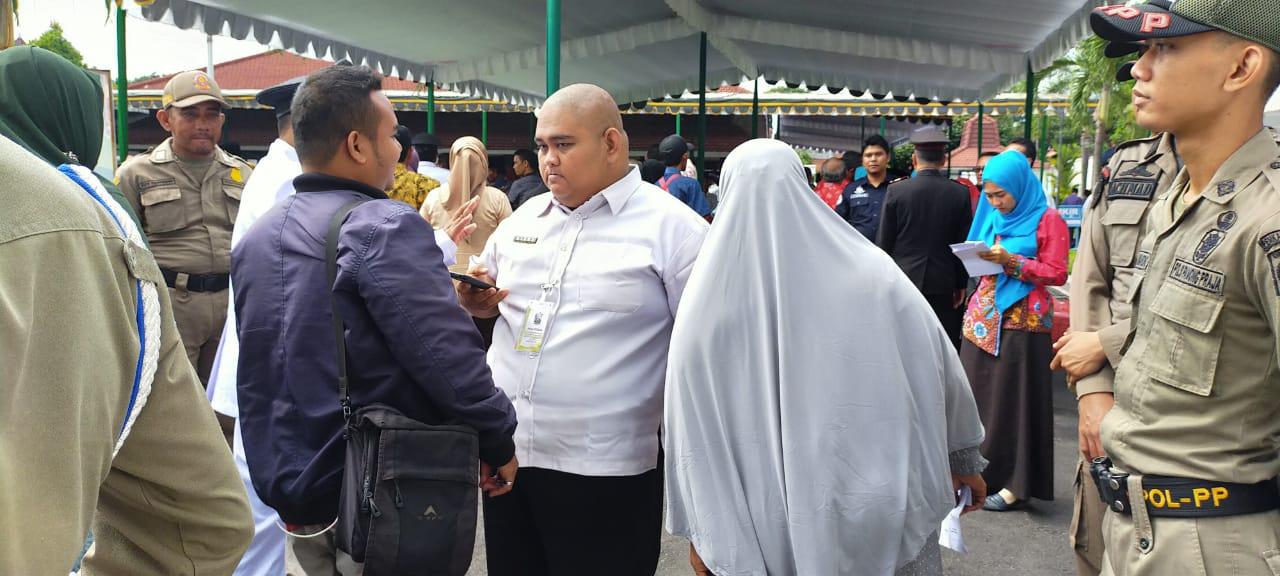 Pelantikan 158 Kades Lumajang Diwarnai Pelarangan Wartawan Meliput