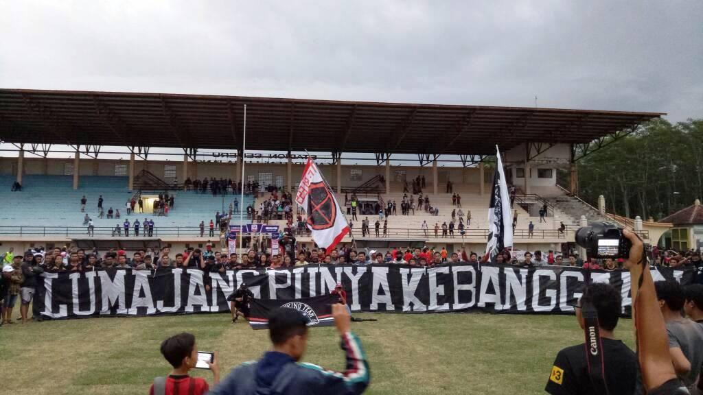 Seribu Lebih, Supporter dan Penonton Dukung Semeru FC