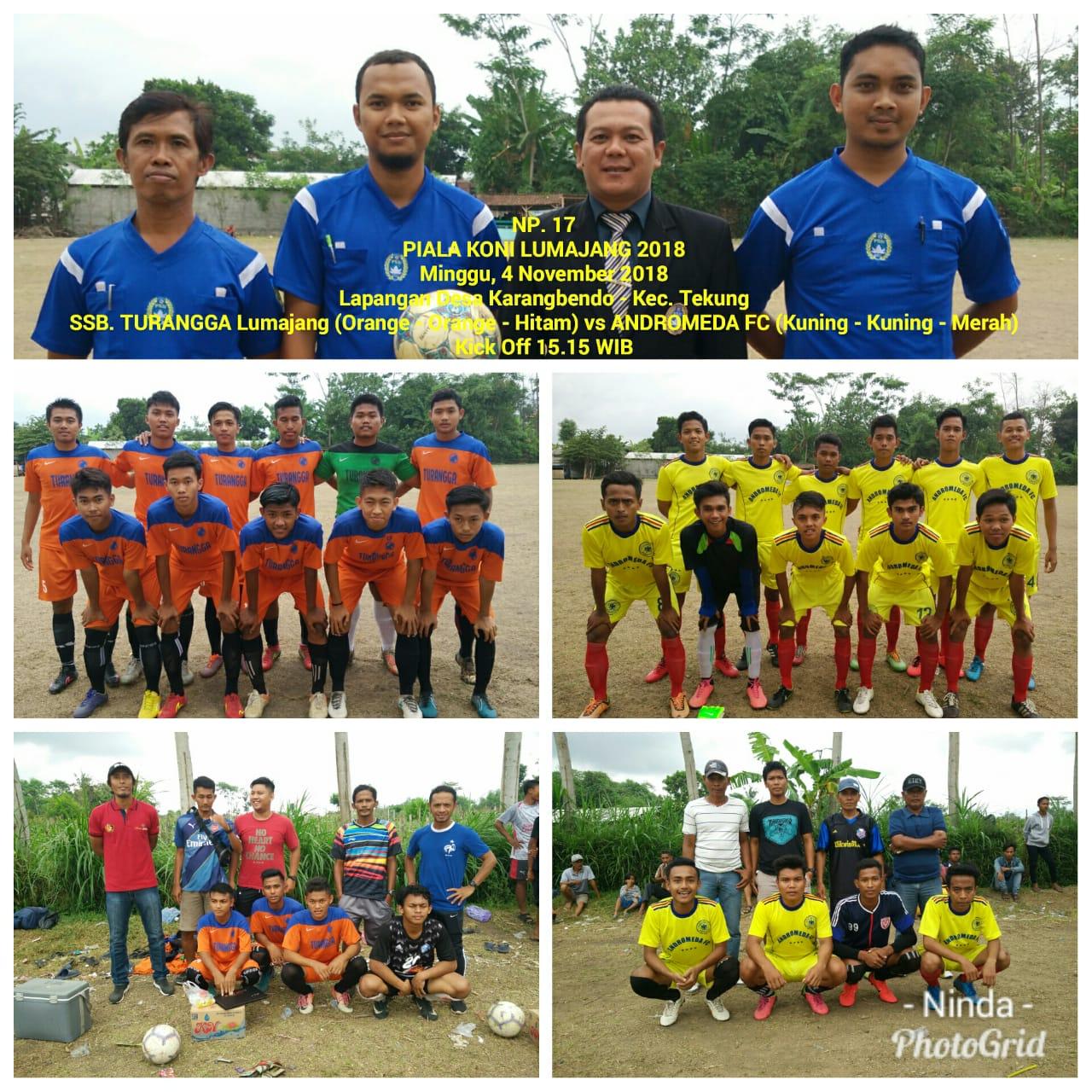 Sabtu Besok, Turangga Vs Patra Jaya  di Final Piala KONI Lumajang