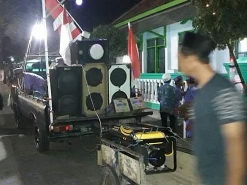 Takbir Keliling di Lumajang jadi Ajang Adu Sound System
