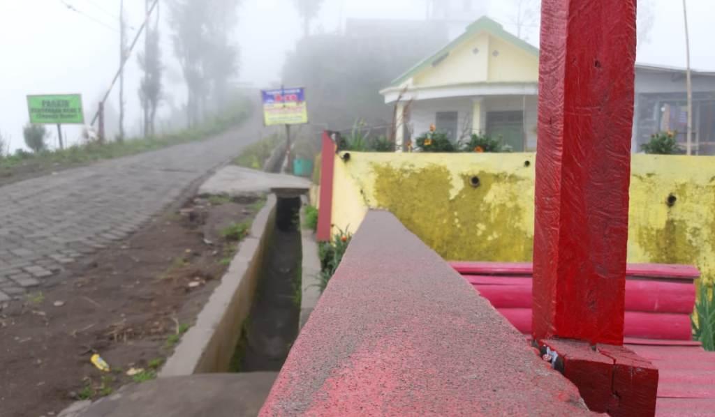 Abu Vulkanik Bromo Mulai Selimuti B 29 dan Desa Argosari