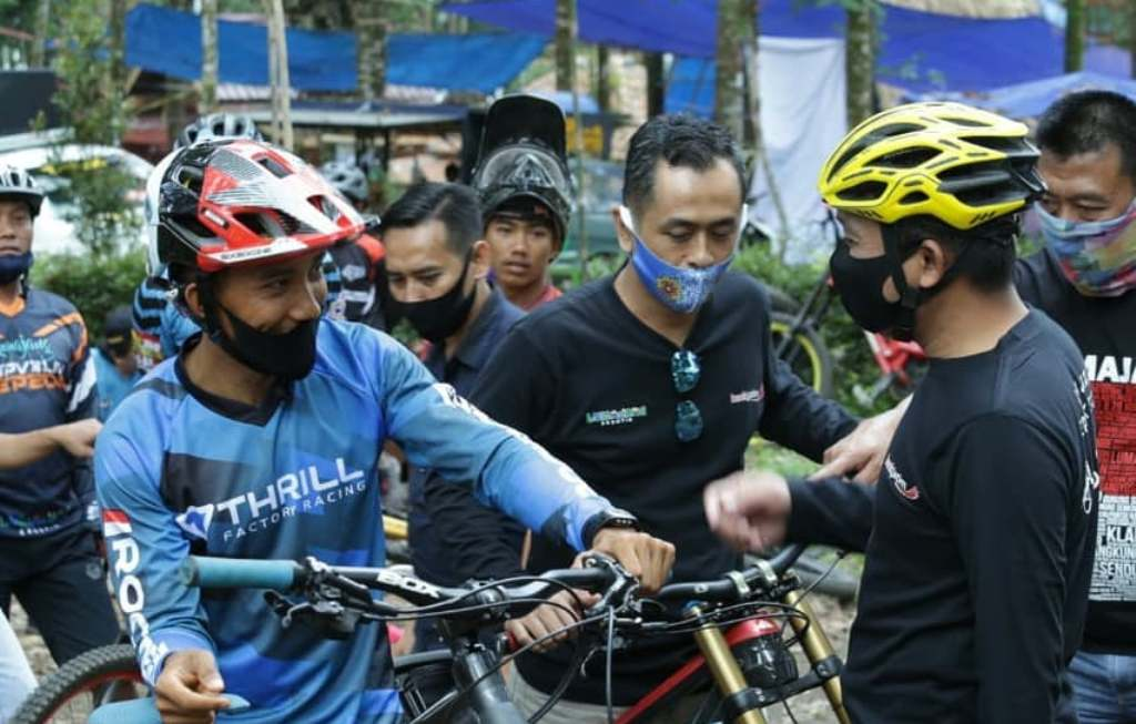 Lumajang Siapkan Venue Downhill Sambut PORPROV Jatim 2022