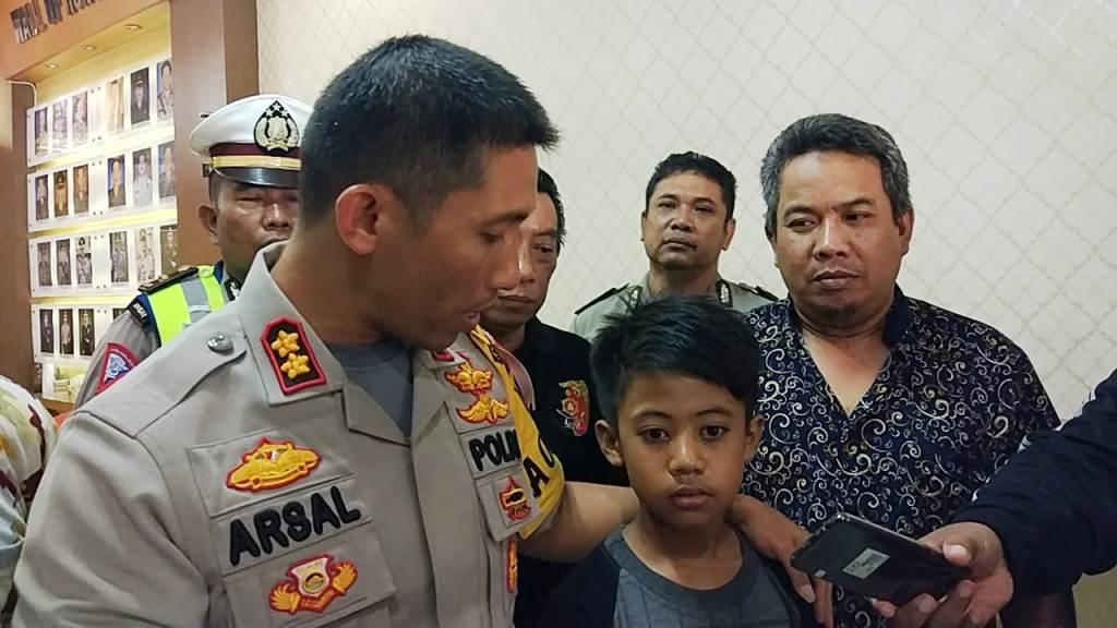 Hilang 5 Hari Alwi Anak Kunir Kidul Ditemukan di Surabaya