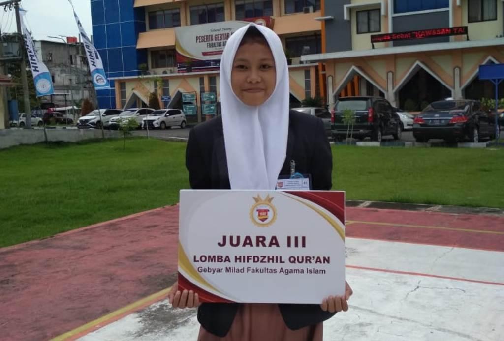 Siswi Lumajang Juara Hifdzil Qur'an di Unmuh Jember