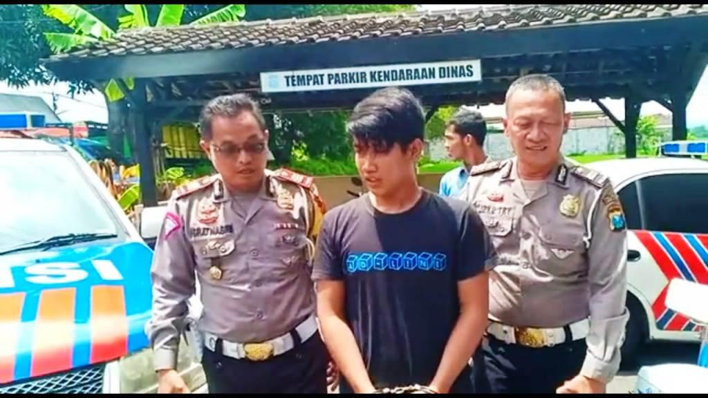 Menyamar Jadi Cleaning Service, Satlantas Polres Lumajang Amankan DPO Polda Bali