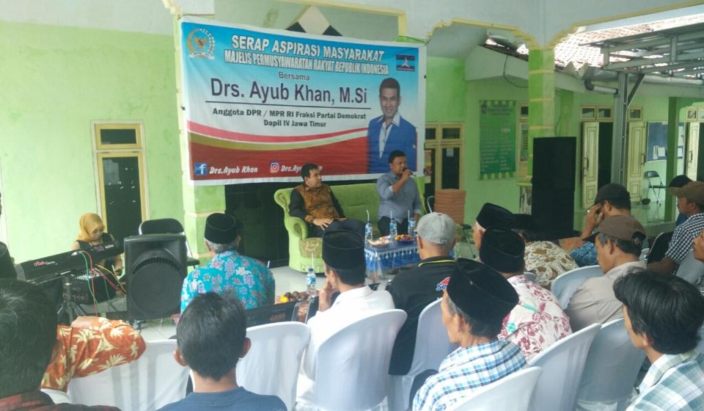 Warga Sampaikan Maraknya Maling Sapi ke Drs. Ayub Khan Anggota DPR RI
