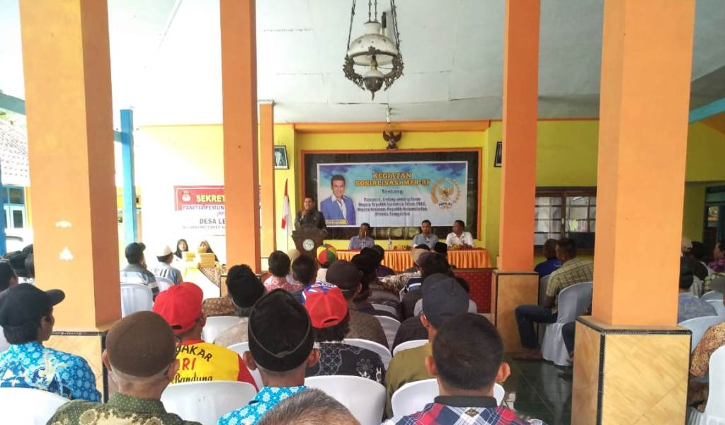 Sosialisasi 4 Pilar Kebangsaan Bersama Drs. Ayub Khan M.Si Fraksi Demokrat