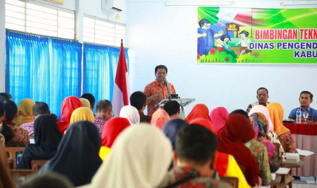 Para Pembimbing Dituntut Bisa Ciptakan Sekolah Ramah Anak