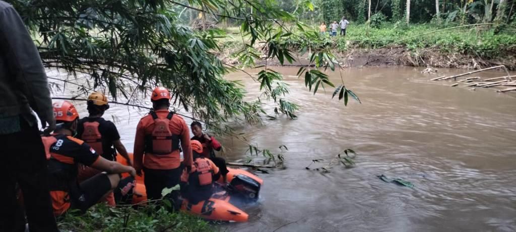Pamit Mancing Bocah 8 Tahun Tenggelam di Sungai Bondoyudo Lumajang