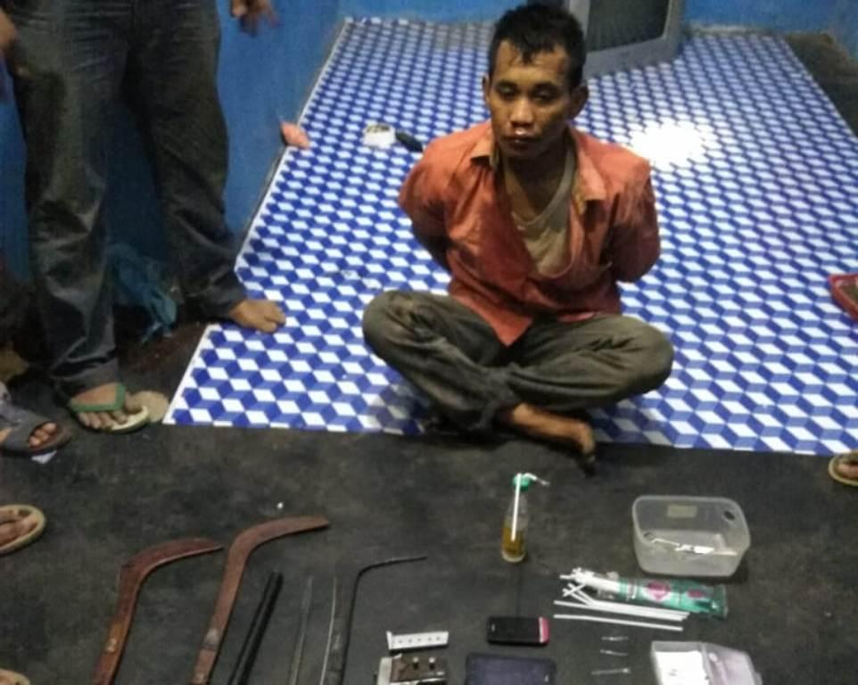 Oknum Kades di Lumajang Diduga Terlibat Kepemilikan Senjata Api
