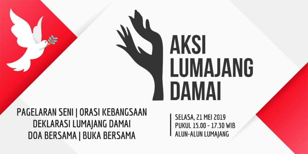 Deklarasi Lumajang Damai, dari Kaki Semeru Untuk Indonesia