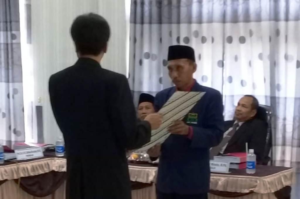 Selamat, Dekan Fakultas Tarbiyah IAI Syarifuddin Sandang Gelar Doktor