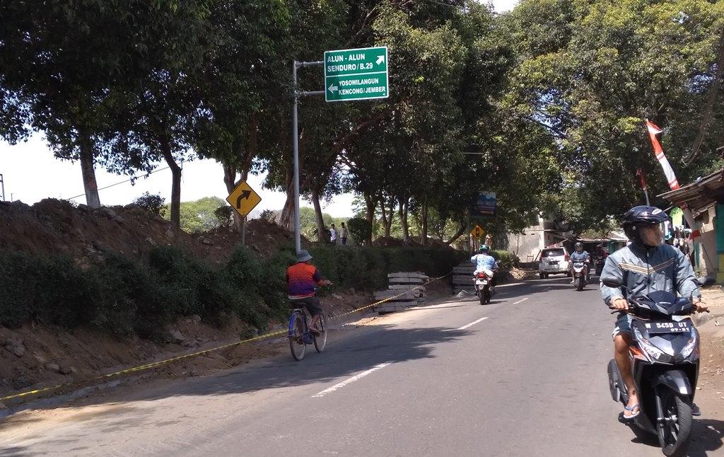 Drainase jalan Juanda