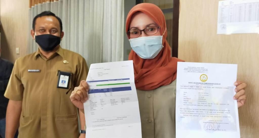 Sebagian Anggota DPRD Lumajang Lakukan Swab Covid 19 Mandiri