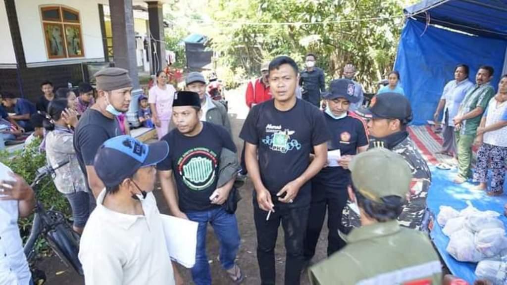 F-PKB Lumajang Bantu Korban Gempa Pronojiwo dan Tempursari