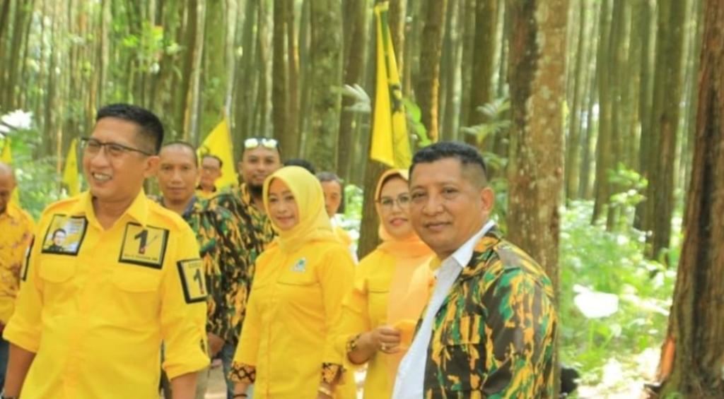 Golkar Lumajang Ingin Hutan Bisa Bermanfaat Bagi Warga Sekitar
