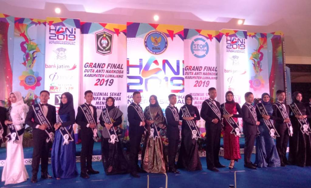 Grand Final Duta Anti Narkoba Digelar Meriah di Pendopo Arya Wiraraja Lumajang