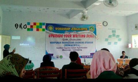 HIMAESYA IAI Syarifuddin Gelar Workshop Jurnalistik Untuk Mahasiswa