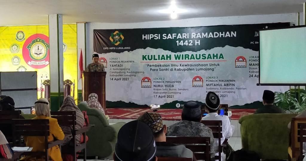 HIPSI Lumajang Gelar Kuliah Wirausaha di Empat Pesantren