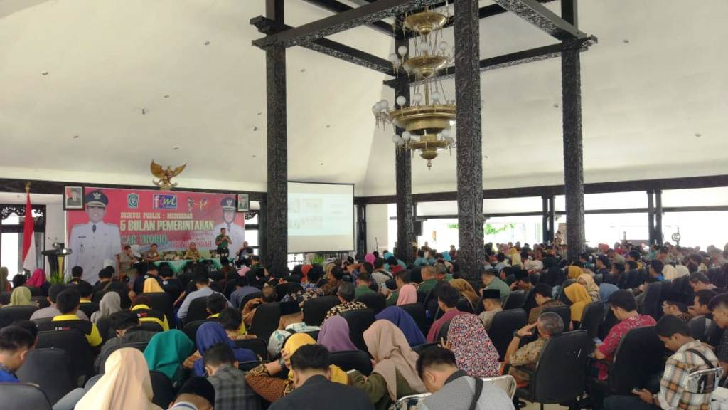 HPN 2019, Ratusan Peserta Hadiri Dialog Publik di Pendopo Arya Wiraraja