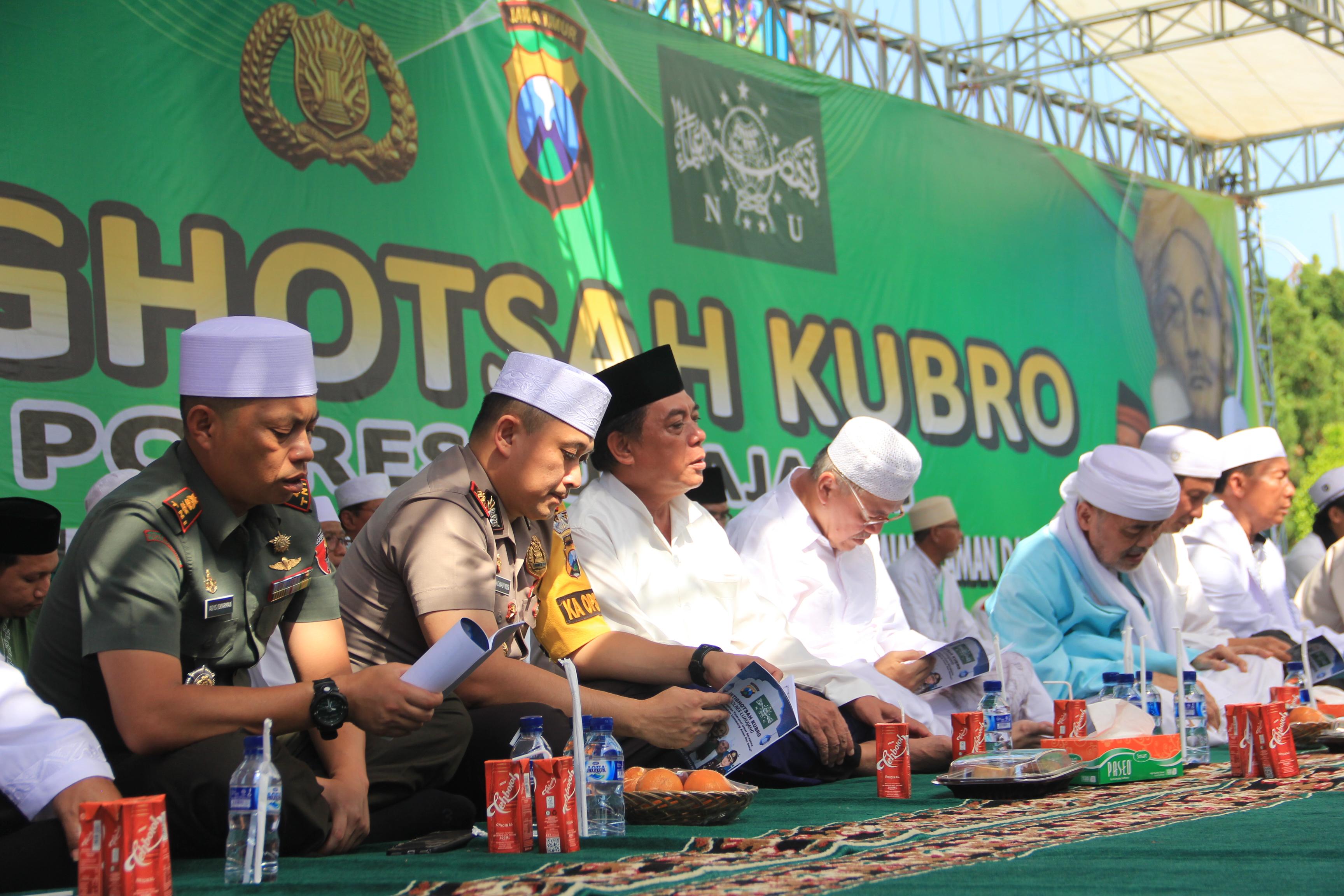 NU bersama TNI Polri Do'a Bersama Untuk Korban Teroris di Mako Brimob