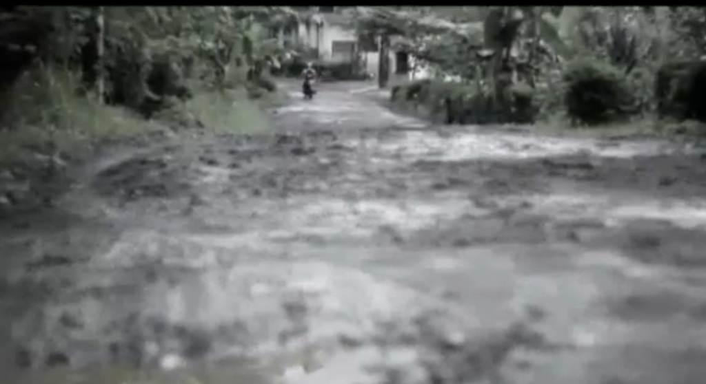 Rusak Parah Jalan Desa di Tempursari 16 Tahun Tak Pernah Diperbaiki