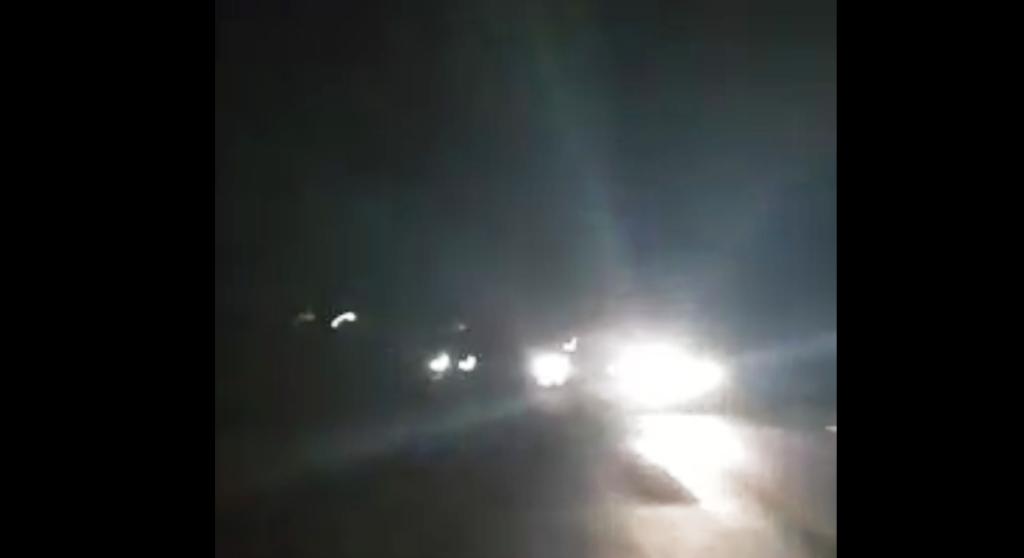 Malam Hari Jalur Lumajang-Jatiroto Mengerikan Tanpa Lampu Penerangan