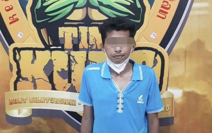 Jambret Ranulogong Tertangkap Usai Ditabrak Penjual Tahu