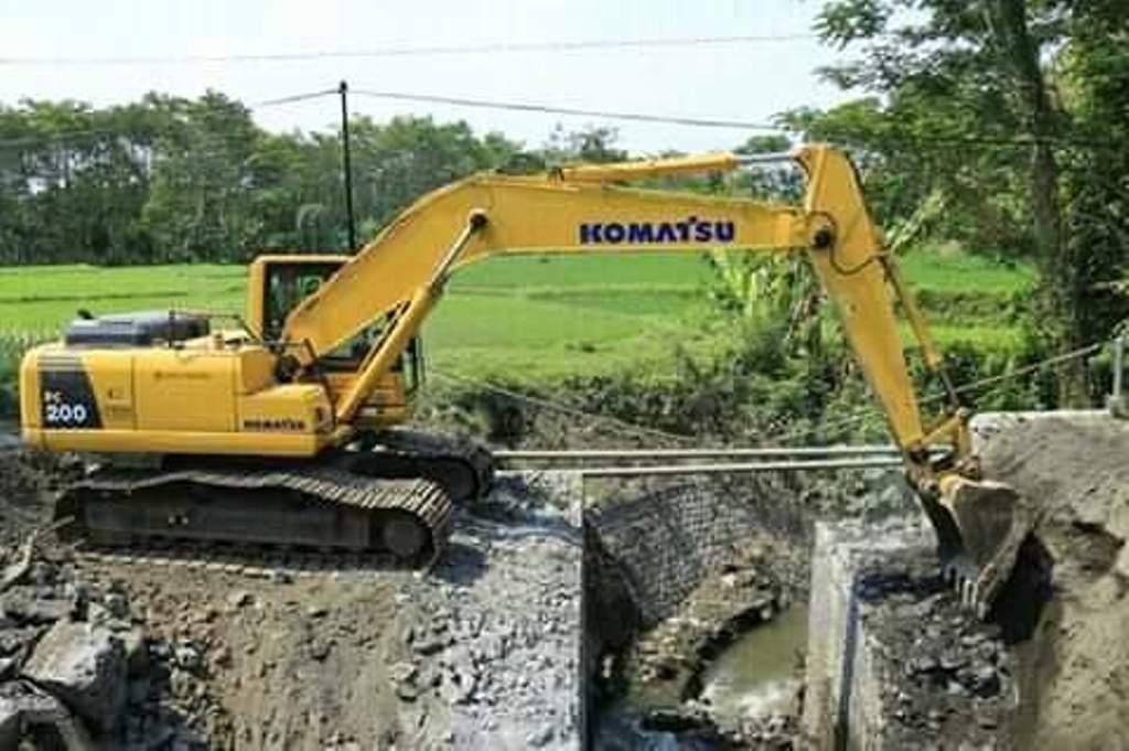 Telan 1,7 Miliar, Jembatan Boreng Lumajang Mulai Dibangun
