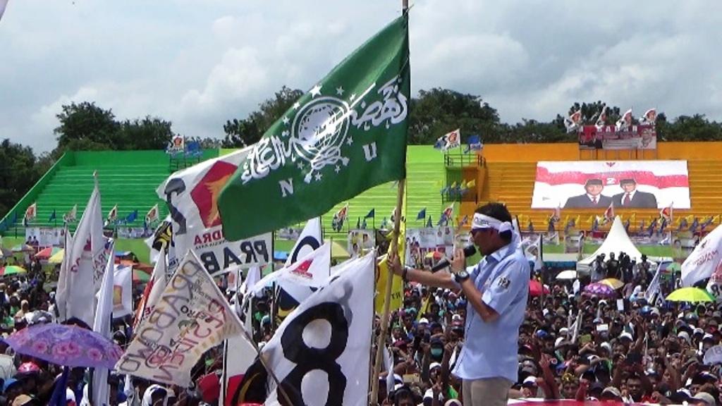 PCNU Lumajang Kecam Keras Pengibaran Bendera NU di Arena Kampanye Akbar 02