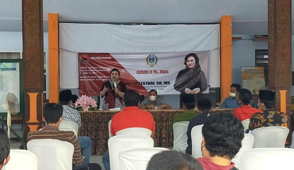 Hari Putri Lestari DPRD Jatim Fokuskan Jasmas Pemberdayaan Masyarakat