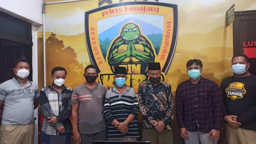 Diduga Rusak Alat Berat Pasir, 5 Warga Sumberwuluh Lumajang Diamankan