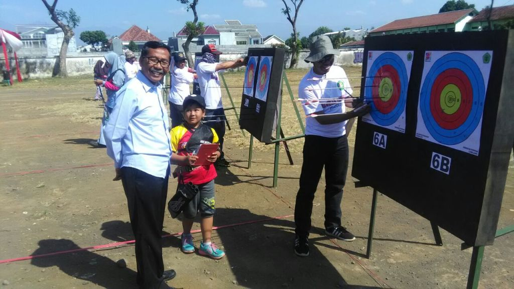 Ketua KONI H. Ngateman Pantau Langsung Kerjurkab PERPANI