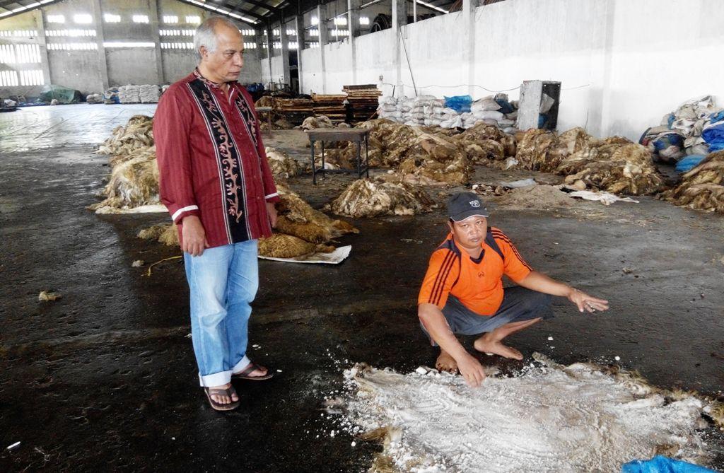 Harga Garam Mahal dan Langka Mulai Berimbas Pada Industri Kulit