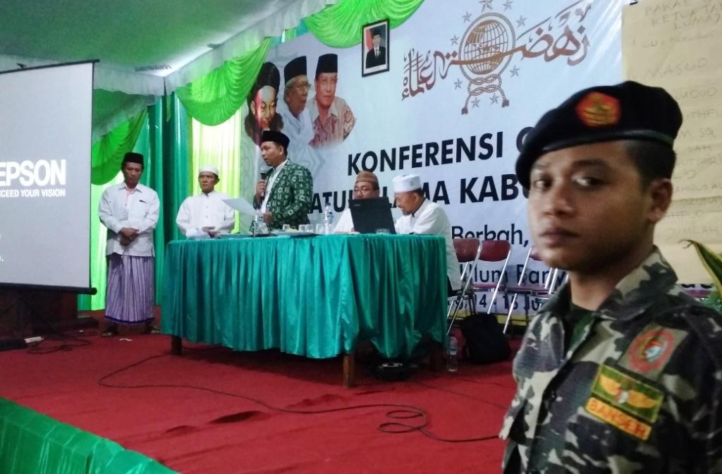 KH. Husni Zuhri Rois Syuriah, Mas'ud Aklamasi Ketua Tanfidz PCNU Lumajang