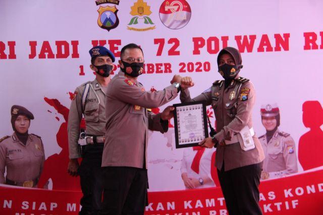 AKBP Deddy Millewa Bangga Kinerja dan Prestasi Polwan Lumajang
