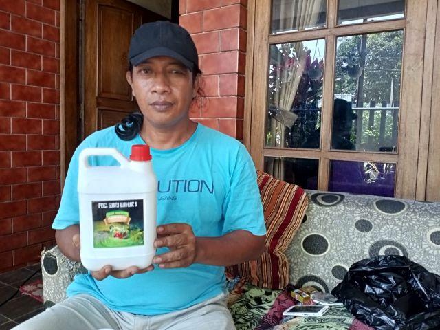 Petani Tukum Buat Pupuk Organik Lumajang Agar Tak Tergantung Pabrikan