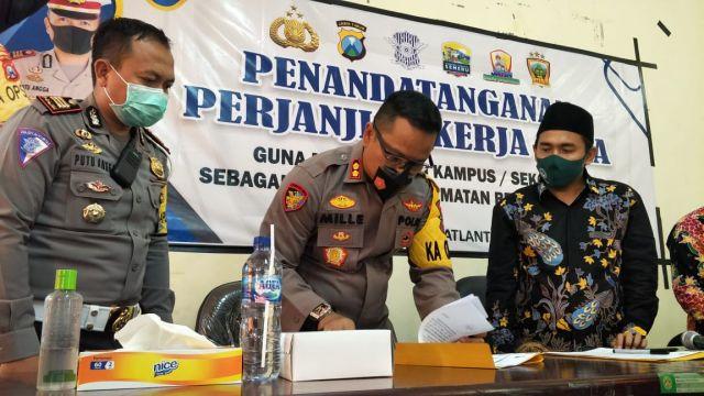 IAI Syarifuddin Lumajang Kampus Pelopor Keselamatan Berlalu Lintas