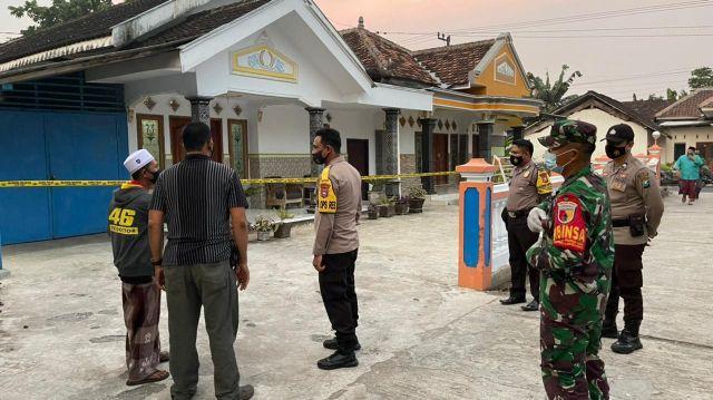 Warga Randuagung Positif Covid di Kunjungi Kapolres Lumajang