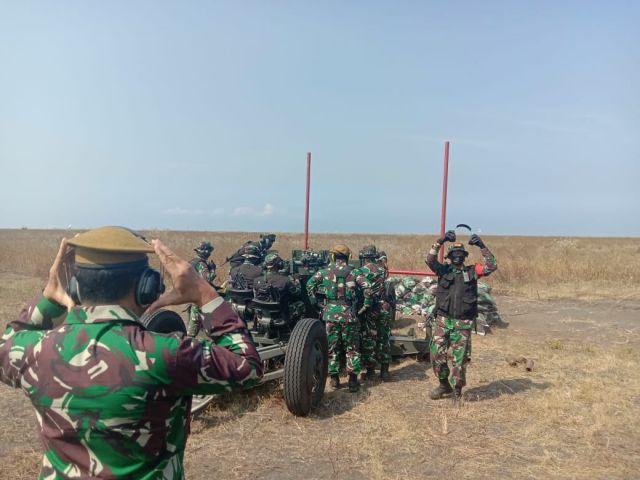 Latbakjatrat TNI AU dan AD Pamer Puluhan Alutsista di Pandanwangi