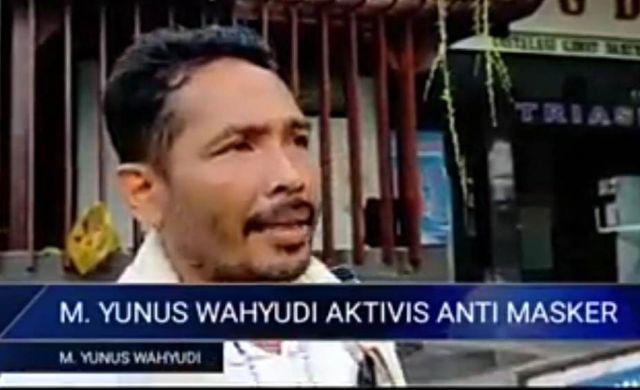 Tanggapan Dinkes Lumajang Soal Vidio Viral Aktivis Anti Masker Yunus