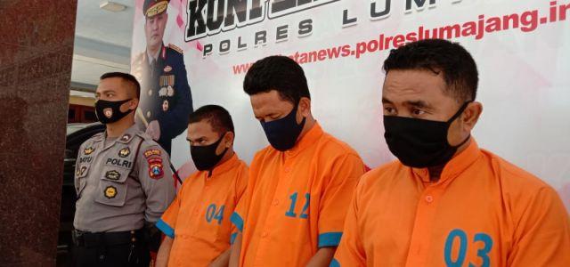 Tim Kuro Lumajang Bekuk Penipu Bantuan Covid-19 asal Surabaya