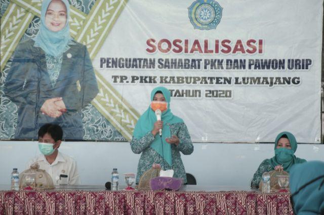 Ketua PKK : Pawon Urip Program Ketahanan Pangan Keluarga Lumajang