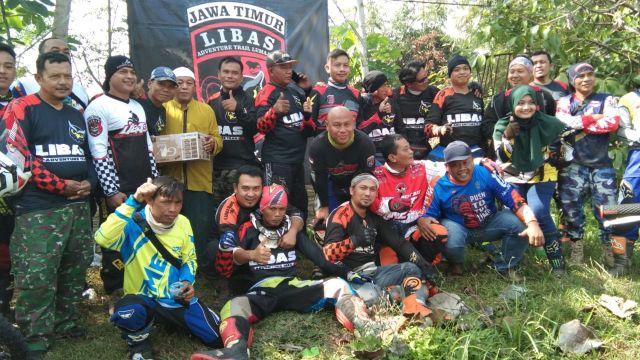 Komunitas Motor Trail LIBAS Galang Dana Pembangunan Masjid Lumajang
