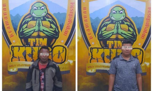 Dua Pengepul Togel Selok Anyar Ditangkap Saat Nunggu Pembeli di Warkop