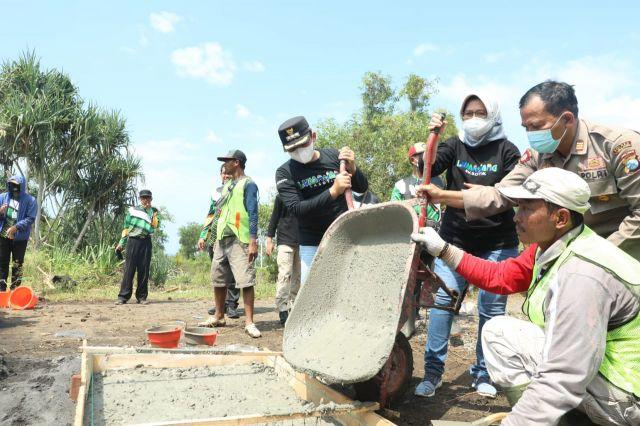 Jalur Pasirian - Tempurasari  Lumajang Selatan Mulai Dibangun