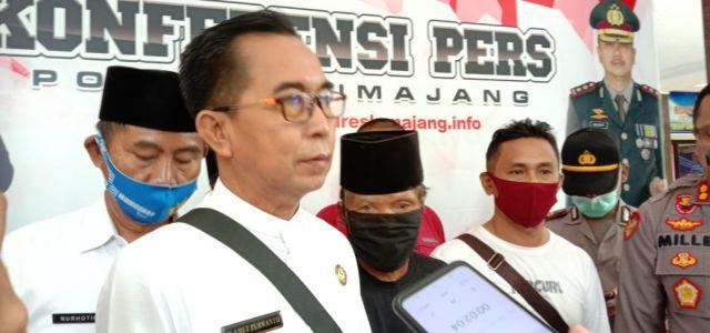 Kades se-Kecamatan Tekung Apresiasi Kinerja Tim Kuro Polres Lumajang