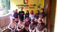 GARDA SMAN 3 Lumajang Kunjungan Redaksi ke Kantor Lumajangsatu.com